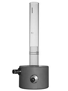 Teilzerlegbare Torch ohne Injektorrohr
