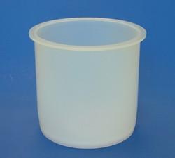 Flansch-Behälter aus PFA, 2400mL
