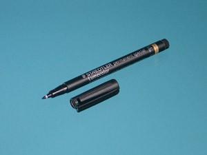 Markierstift für PFA-Gefäße, schwarz
